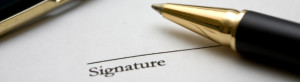 rights with signature